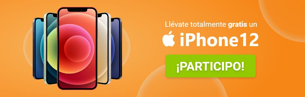 sorteo iphone 12 gratis